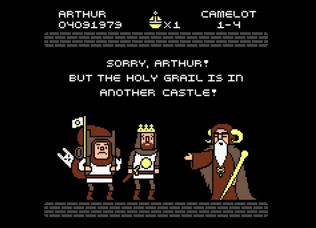 The Grail Is In Another Castle