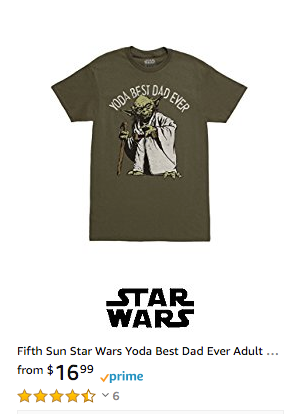 Star Wars Fathers Day Shirt