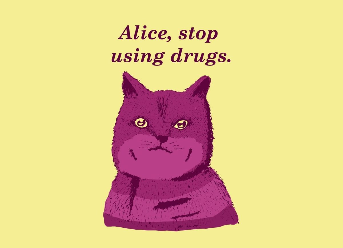 Alice, stop doing Drugs