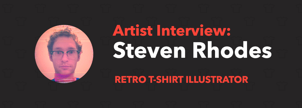 Steven Rhodes T-Shirts Illustrator