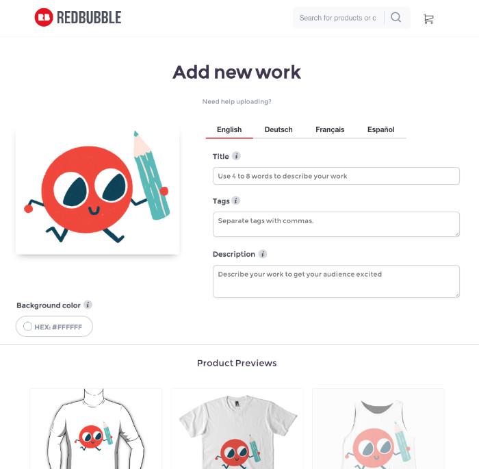 Essek Redbubble Add Work