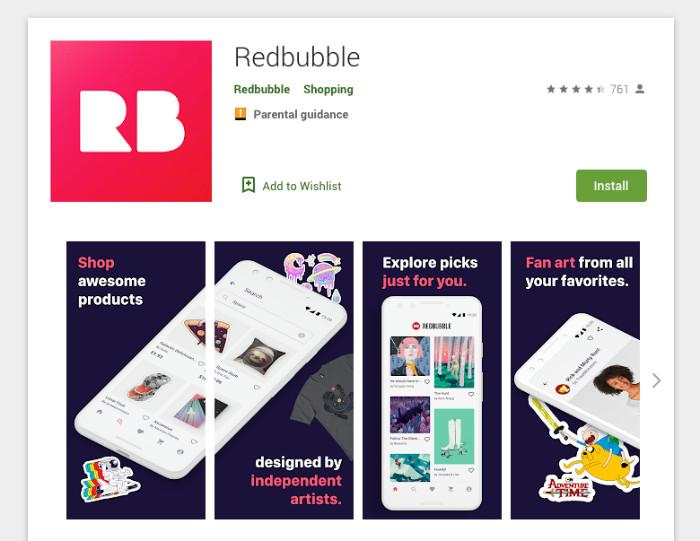 Redbubble App