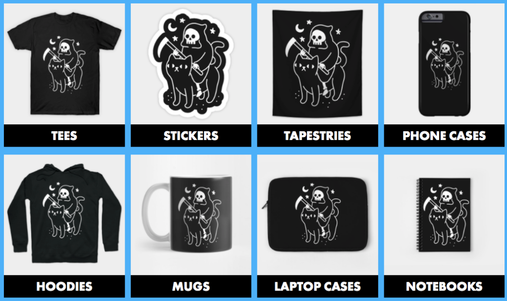 Teepublic products