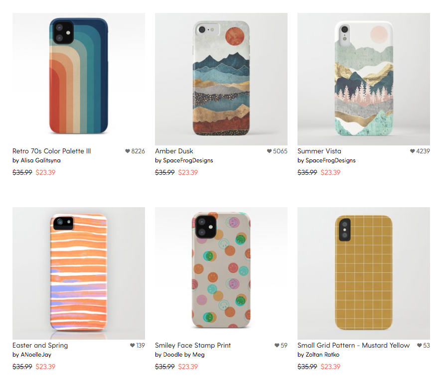 Pattern Phone Cases