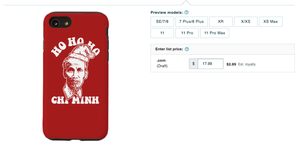iPhone Case Artwork - Merch by Amazon