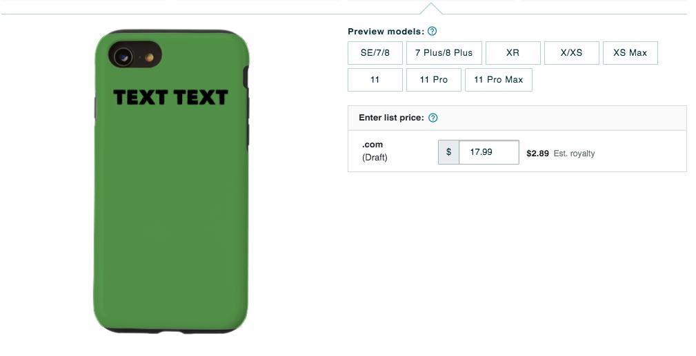 iPhone Artwork Phone Case