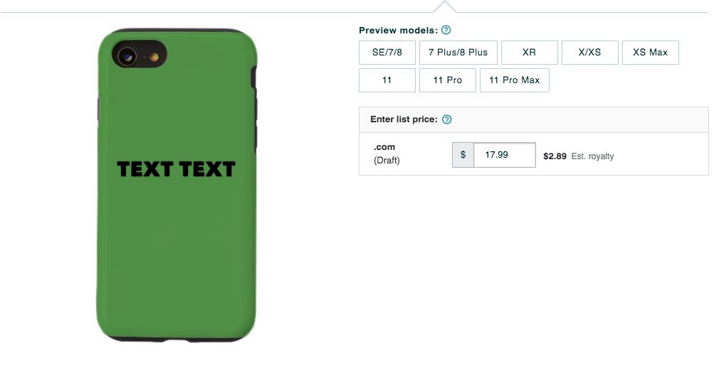 iPhone Phone Case Artwork